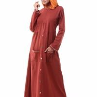 PROMO TERBARU Gamis Model Baru Alnita AG 16 Merah ORIGINAL