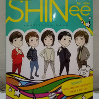 Shinee - Unofficial Book (Bonus VCD Dance Tutorial + Stiker + Pin Up)