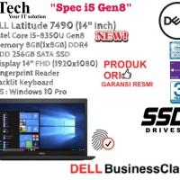 """DELL Latitude 7490 ( 14"""" Inch ) Core i5-8350U Gen8 With SSD 256GB"""