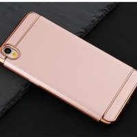 Hardcase Plating 3in1 Ultra Slim Matte Cover Case Casing HP Oppo A37