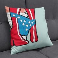 Sarung Bantal Fullprint Cushion Cover Custom Retro Wonder woman 05