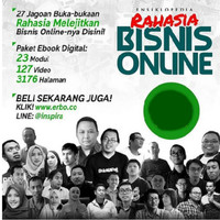 Tutorial Rahasia Bisnis Online