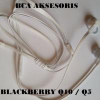 PROMO HEADSET EARPHONE HANDSFREE BLACKBERRY BB Q10 Q5 ORIGINAL 99