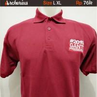 Kaos Kerah L XL #2019 Ganti Presiden Polo Shirt Lacoste Cotton Pique