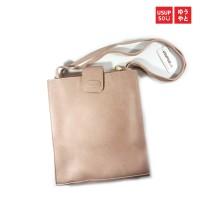Usupso Woman Sling Bag / Tas selempang - Lite Brown