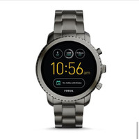 smartwatch fossil Q Explorist gen 3 FTW4001 smoke grey stainless steel