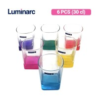 Luminarc Gelas Minum Sterling Rainbow OF 30 / 6 pcs J5985