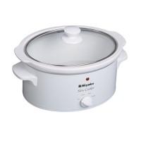 Jual Miyako Slow Cooker SC400 / Pemasak Lambat SC 400 - Putih - [4L] Murah