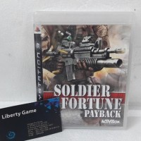 ZS194 PS3 SOLDIER OF FORTUNER PAYBACK REG