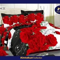 (Sprei & Bed Cover) Sprei Kintakun Luxury ukuran 160 - Romance
