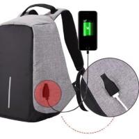 TERBARU Tas Ransel Anti Maling USB Tas Model XD Design Backpack Anti