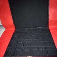 jual kotak display tempat giwang atau anting isi 24