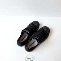 KUALITAS TERBAIK sepatu converse allstar hitam/full hitam/full black