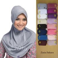 jilbab hijab ELZATTA Hijab Kerudung Jilbab Instan Bergo Zaria Sahara