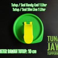 TUTUP SEAL SLIMLINE 1 LITER 1L HANDY COOL BOTOL MINUM TUPPER WARE
