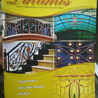 Buku katalog tralis kanopi pintu gerbang buku besar TEMPA