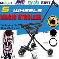 MICRO TRIKE magic stroller , Stroller balita bayi with LED WHEELS