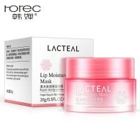 lacteal lip moisture mask masker bibir