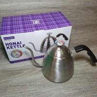 Latina REW-1109 Honai Kettle Plus Thermometer 900ML - Teko Leher Angsa