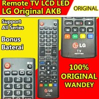 ORIGINAL Remot / Remote TV LCD LED LG AKB Series / remot
