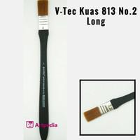V-Tec Kuas 813 No.2 Long / Kuas Lukis