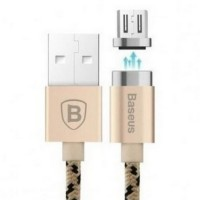 Baseus Insnap Series Kabel Charger Magnetic Micro USB 1 Meter - Golden