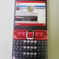 Softcase gambar hp nokia merah Asus Zenfone Max Plus M1