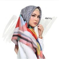 Jual Hijab Printing / Jilbab Segi Empat Deenay - GEMMA Murah