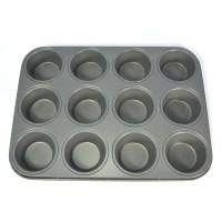 Jual Bursa Dapur Master Pastry Non-Stick Loyang 12 Cup Muffin Pan Murah