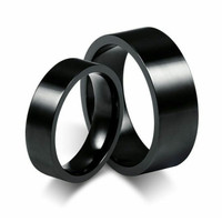 cincin couple black polos,cincin tunangan Titanium, anti luntur