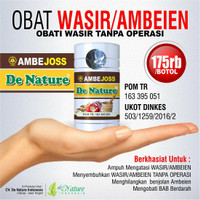 TERLARISSS Obat Sakit Wasir/Ambeien - De Nature