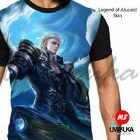 Harga baju kaos umakuka 3d fullprint mobile legend legend of alucard   antitipu.com