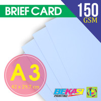 Kertas Brief Card / Karton BC / Kertas Gambar / Briefcard Plotter A3