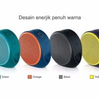 Promo Logitech X100 Mobile Wireless Bluetooth Speaker Portable