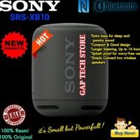 Promo Sony Srs Xb10 / Xb 10 Extra Bass Bluetooth Portable Speaker