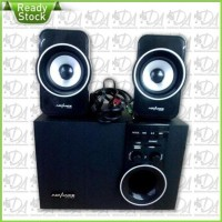Promo Speaker Advance M180Bt Bluetooth Fm Subwoofer System Murah