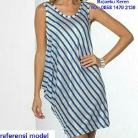 Dijual Cowl Side Dress. Po Jasa Jahit Dress Kebaya Kaftan Batik Gamis