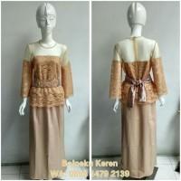 Promo Setelan Kebaya Wanita(Jasa Jahit)Bukan Ready Stock Dress Batik