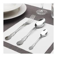 Peralatan Dapur Makan IKEA Set Sendok Garpu Set Isi 18 Pcs