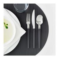 Peralatan Dapur Alat Makan Set Garpu Sendok Pisau Ikea isi 12pcs
