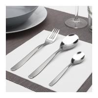 IKEA Set Peralatan Makan, Sendok Garpu Sendok Teh, 1Set isi 12 pcs