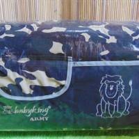 kado bayi baby gift tas perlengkapan bayi motif ARMY BABY KING