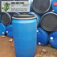 drum/tong HDPE 200 liter (untuk simpan oli, bumbu, ikan, sampah, dll)