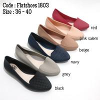 Flatshoes wanita jelly karet - 1803
