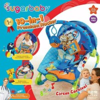 MURAH Sugar Baby Bouncer Premium 10 in 1 Rocking kursi goyang bayi su