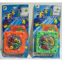 Mainan pancing ikan mini manual 1 kolam - Set flashing 2212