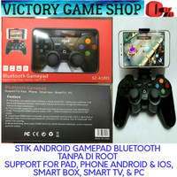 STIK/ STICK/ JOYSTIK/ ANDROID/IOS GAMEPAD X-SHOT BLUETOOTH UNTUK HP