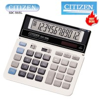 calculator 12 digit kalkulator citizen SDC- 868 L