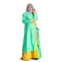 Busana baju dress syari gamis Muslimah Wanita Dewasa Terbaru TS142