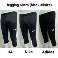 Legging 68 cm NIke Adidas UA - Manset Short Celana Baselayer Unisex